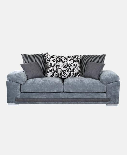 Cosy Silver Sofa